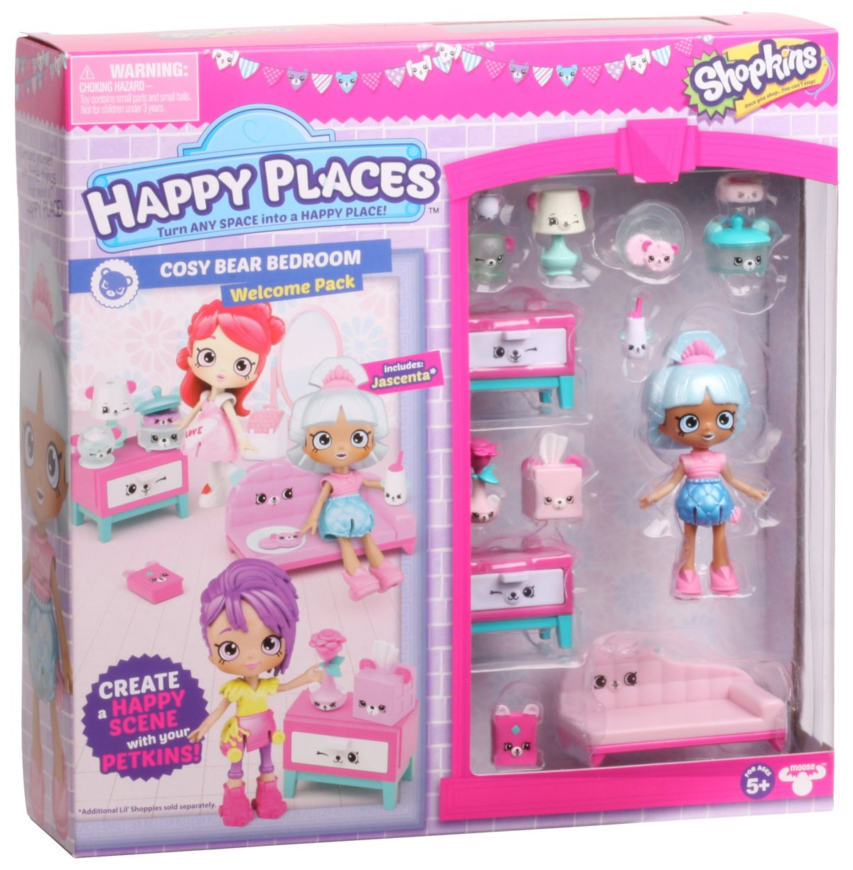 Shopkins Happy Places S3 Welcome Pack Cosy Bear Bedroom Takara Tomy Premium Shop Online Beyblade Shop Premiumtoy My Our Online Shop Offers Wide Range Of Tomica Plarail Beyblade